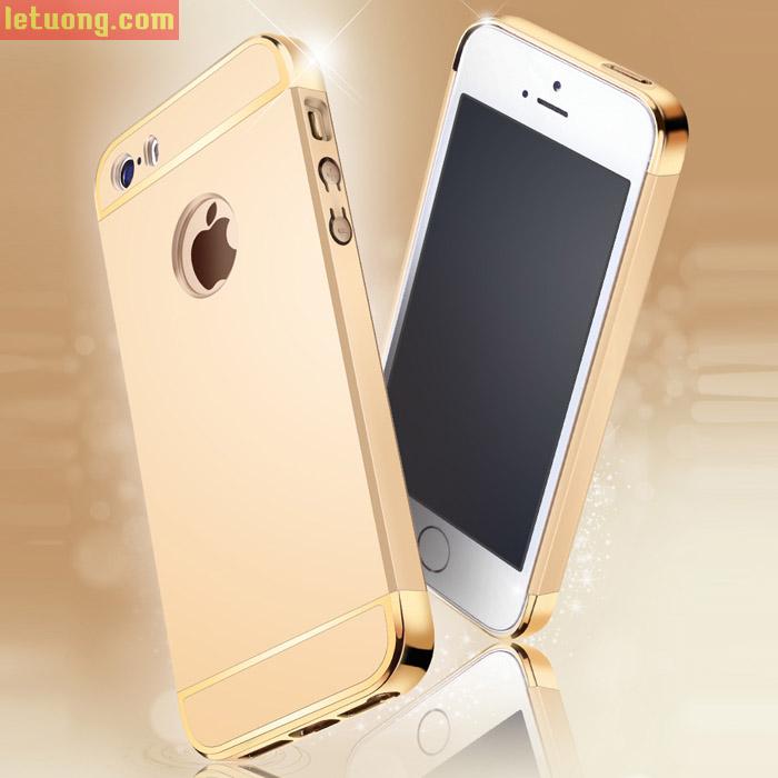 Ốp lưng Iphone SE/5/5S Aishark Module tặng kính cường lực