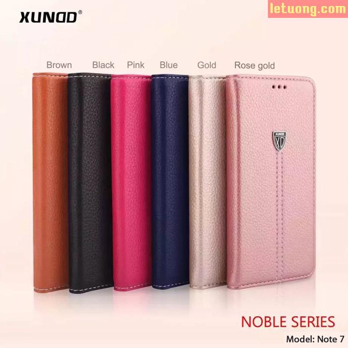 Bao da Galaxy Note FE ( Note 7 ) Xundd Noble Hanmade sang trọng, bền đẹp