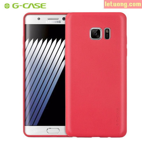 Ốp lưng Galaxy Note FE ( Note 7 ) G-Case  Leather bo kín 360 chống sốc