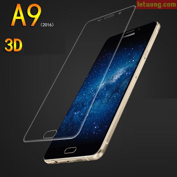 Miếng dán Full màn hình Galaxy A9 Pro Vmax 3D Curved TPU dẻo
