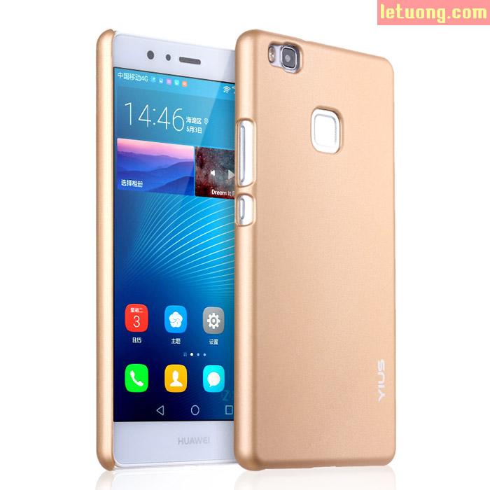 Ốp lưng Huawei P9 Lite Yius Case lưng mịn như da em bé, mỏng 0,7mm