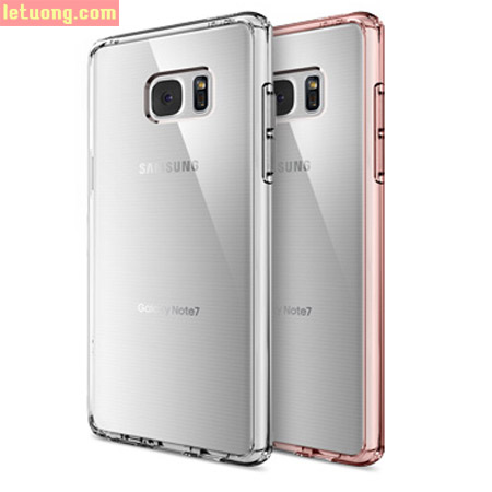 Ốp lưng Note FE ( Note 7 ) Spigen Ultra Hybrid Crystal trong suốt ( USA )