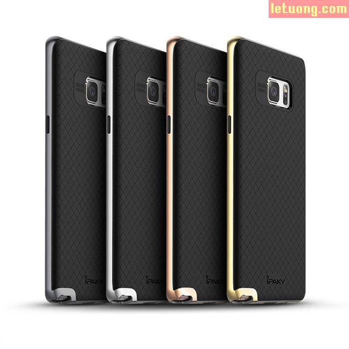 Ốp lưng Note FE ( Note 7 ) Ipaky Neo Hybrid Caro 2 lớp lưng Caro tuyệt đẹp