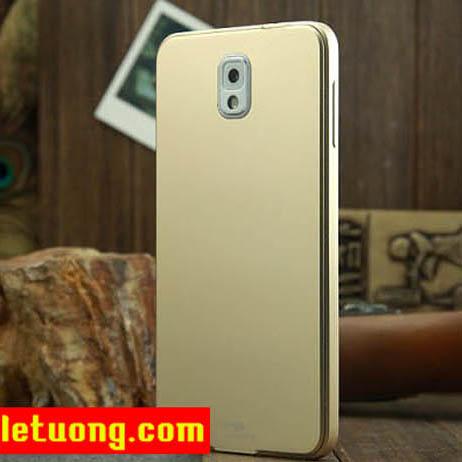 Ốp lưng Galaxy Note 3 Zomgo Metal nhôm nguyên khối sang trọng