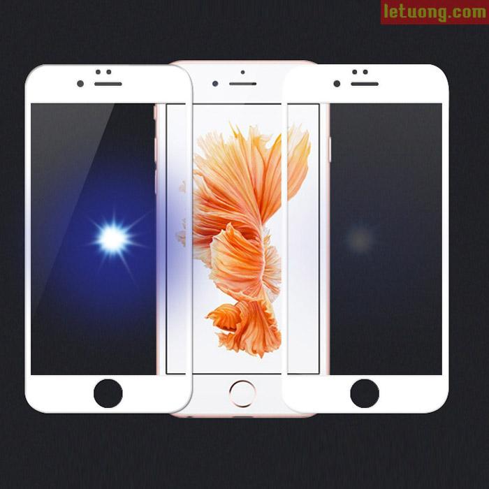 Kính cường lực full màn hình Iphone 6/6S Glass Full Cover 3D