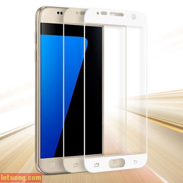 Kính Full màn hình Galaxy S7 Glass Full Cover 3D che hết màn hình cong