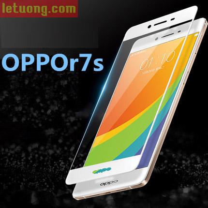Kính cường lực Full màn hình Oppo R7s Glass Full Cover 3D