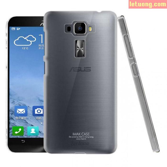 Ốp lưng Zenfone 3 5.2 Inch ZE520KL Imak Nano trong suốt không ố vàng