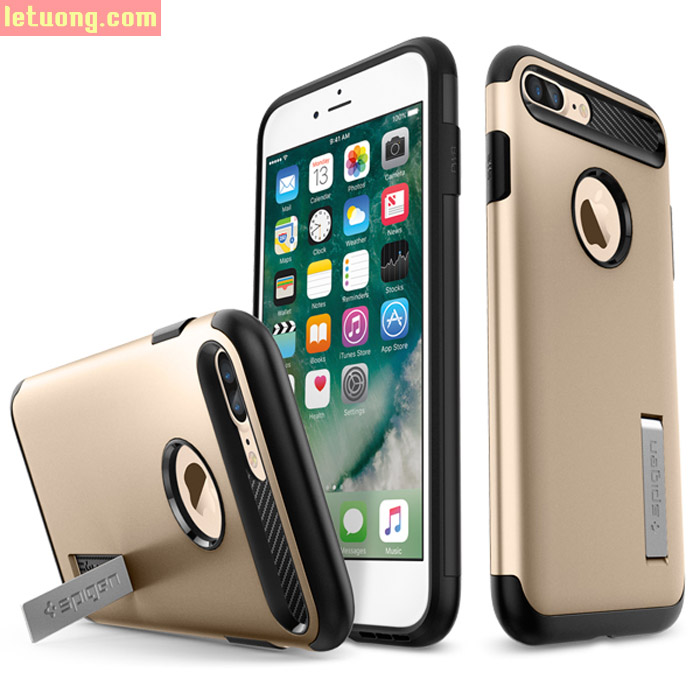 Ốp lưng Iphone 7 Plus, 7S Plus Spigen Slim Armor New 2016 từ USA