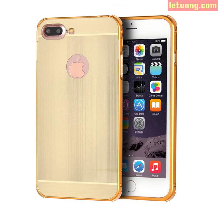 Ốp lưng Iphone 7 Plus, Iphone 8 Plus LT Metal nhôm phay chống sốc sang trọng