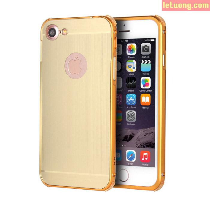 Ốp lưng Iphone 8, Iphone 7 LT Metal nhôm phay chống sốc sang trọng