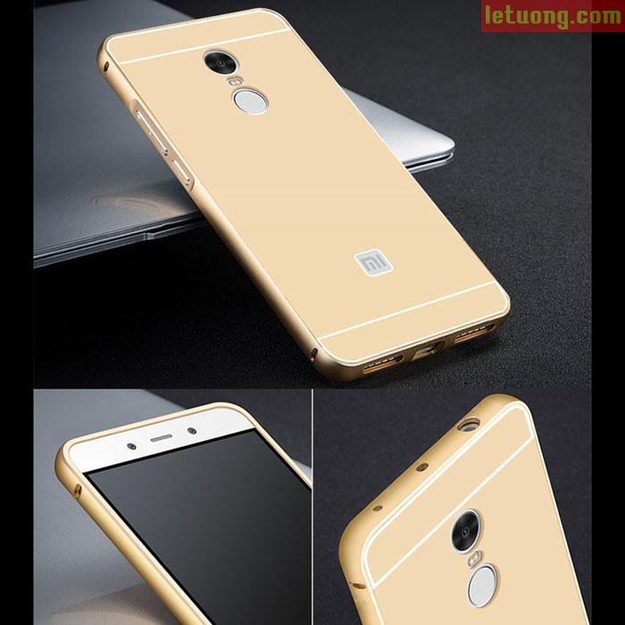 Ốp lưng Xiaomi Redmi Note 4 LT Armor Metal viền nhôm sang trọng