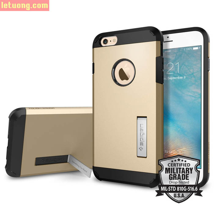 Ốp lưng Iphone 6 Plus/6S Plus Spigen Tough Tech Armor từ USA