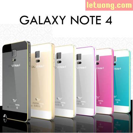 Ốp lưng Galaxy Note 4 Szlf Armor Metal kim loại cực đẹp