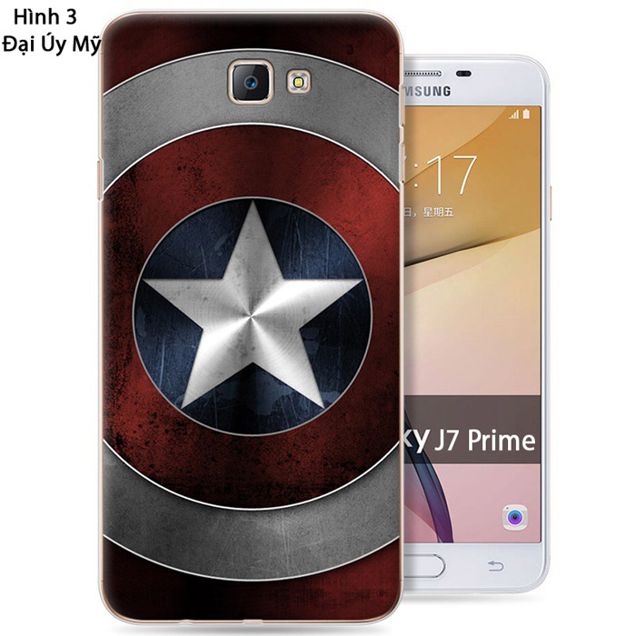 Ốp lưng Galaxy J7 Prime, On7 2016 LT Case in hình 3D mỏng 0,7mm