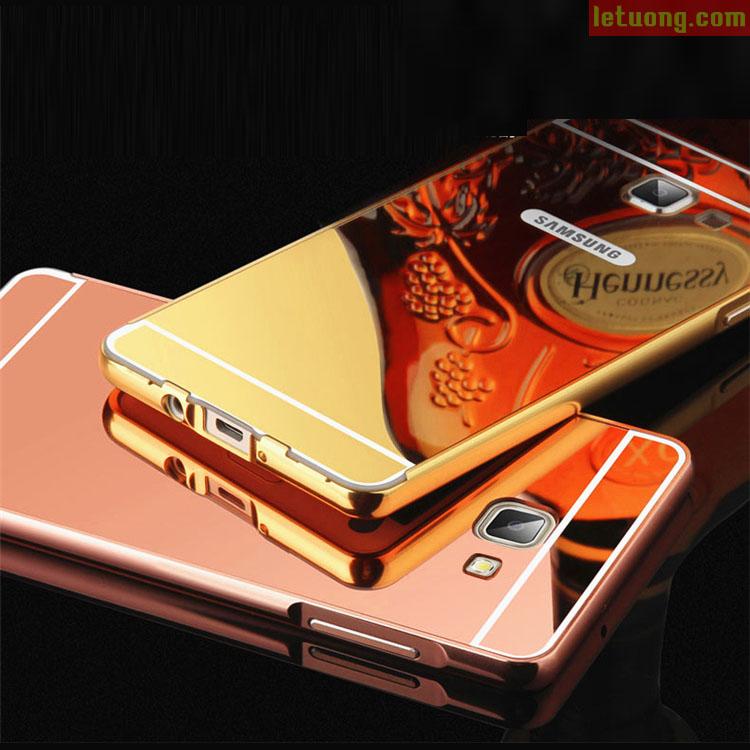 Ốp lưng Samsung Galaxy J7 Prime LT Armor Metal mạ bóng 24K