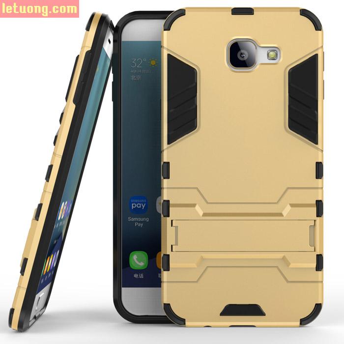Ốp lưng Galaxy A8 2016 Iron Man chống sốc mạnh mẽ