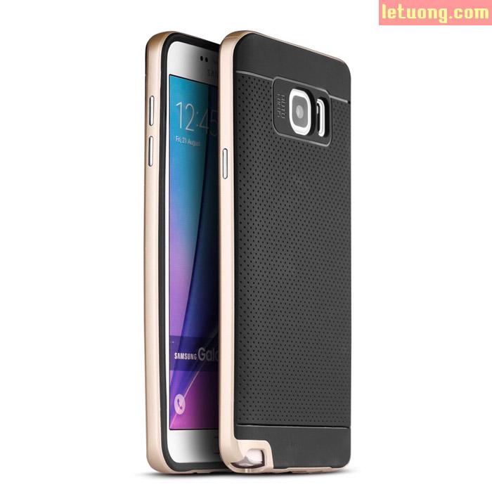 Ốp lưng Samsung Note 5 Ipaky Neo Hybrid + kính cường lực
