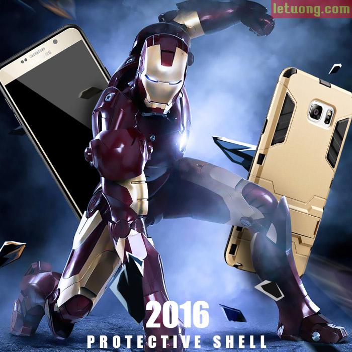 Ốp lưng Galaxy Note 5 LT Iron Man mạnh mẽ như người máy