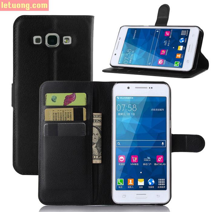 Bao da Galaxy A8 LT Flip Wallet 3 Ngăn Ví tiện lợi nhất