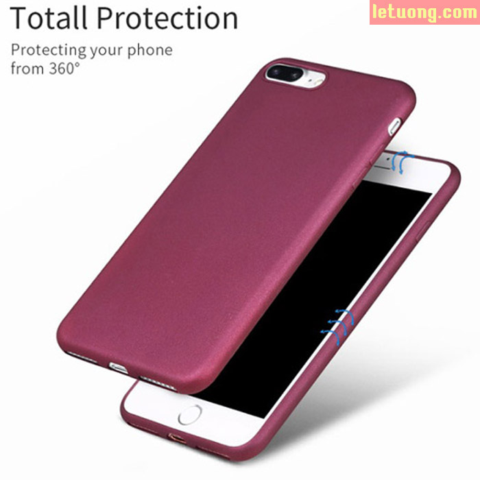 Ốp lưng Iphone 7S Plus, Iphone 8 Plus X-Level Guardian nhựa mềm TPU siêu mỏng