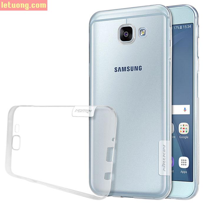 Ốp lưng Galaxy A8 2016 Nillkin Nature TPU nhựa dẻo trong suốt