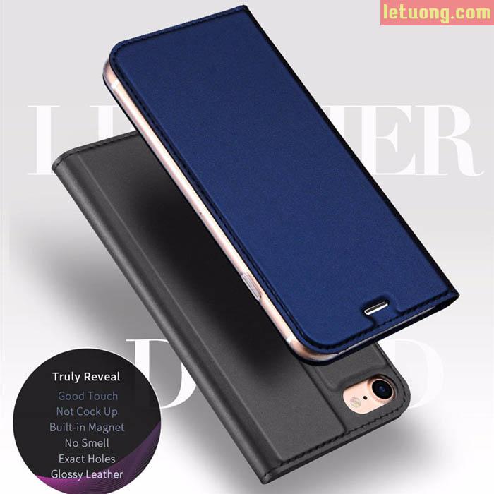 Bao da Iphone 8, Iphone 7 DUX DUICS Skin siêu mỏng khung mềm chống sốc