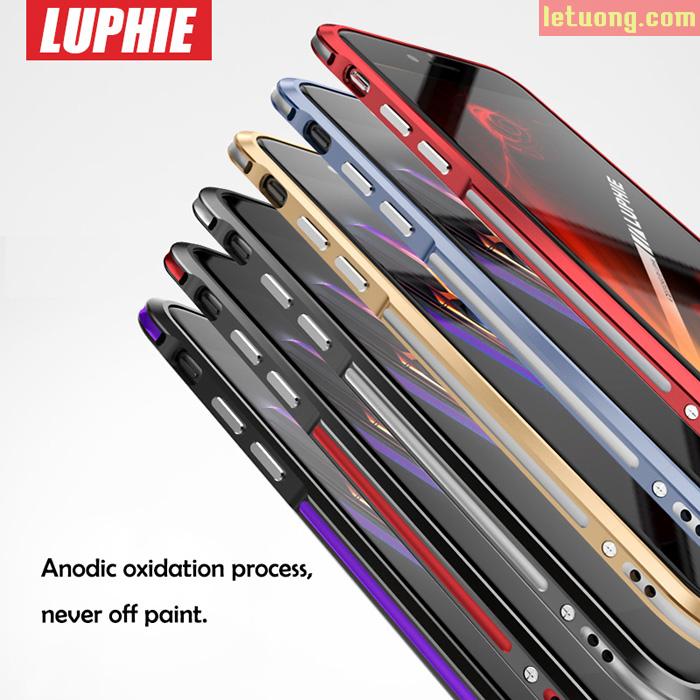 Ốp viền Iphone 7 Luphie Bicolourable Blade Sword nguyên khối từ Đức