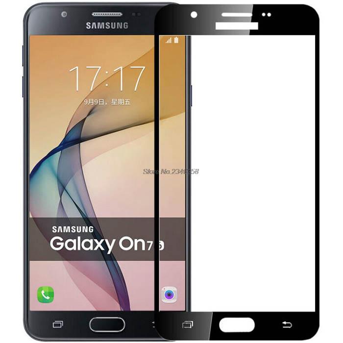 Kính cường lực full màn hình Galaxy J7 Prime Glass Full Cover 3D