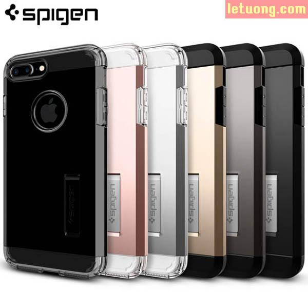 Ốp lưng Iphone 7 Plus Spigen Tough Armor chống sốc ( USA )