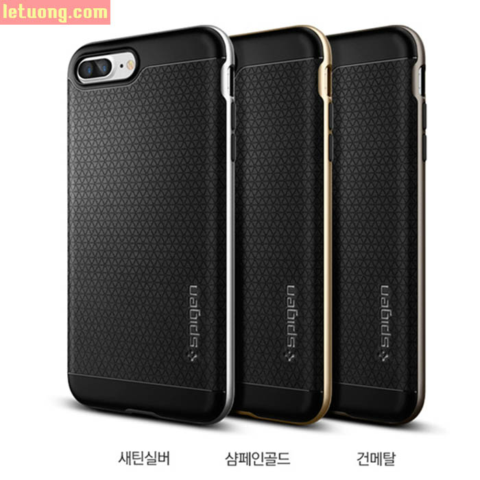 Ốp lưng Iphone 7 Plus, Iphone 8 Plus Spigen Neo Hybrid USA 2 lớp tuyệt đẹp