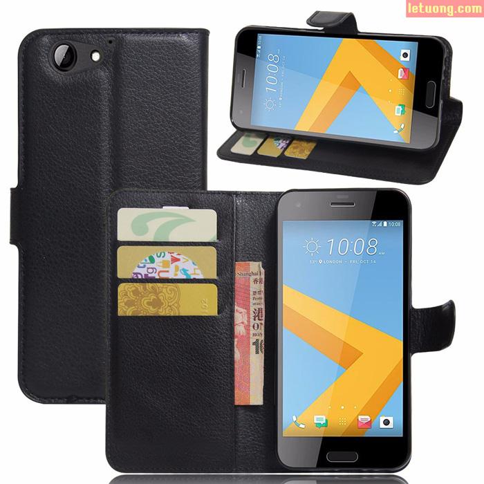 Bao da HTC One A9S LT Flip Wallet ngăn ví tiện lợi sang trọng