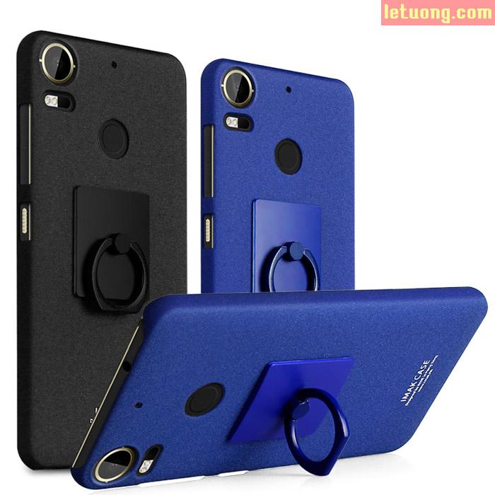 Ốp lưng HTC Desire 10 Pro Imak Cowboy lưng sần nhám + móc treo