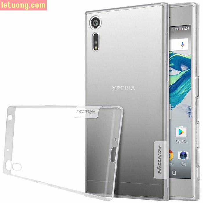 Ốp lưng Sony Xperia XZ/XZs Nillkin Nature nhựa mềm trong suốt mỏng 0,6mm