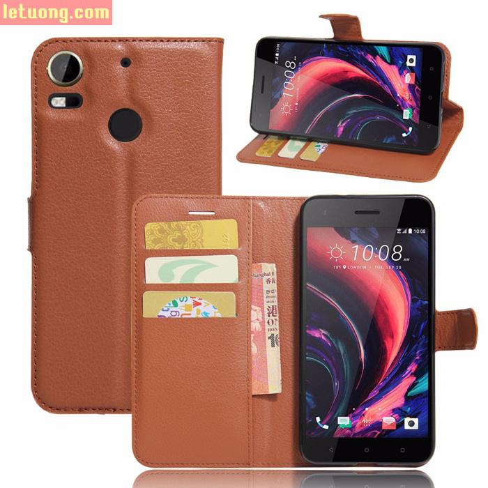 Bao da HTC Desire 10 Pro LT Filp Wallet dạng ví đa năng khung mềm