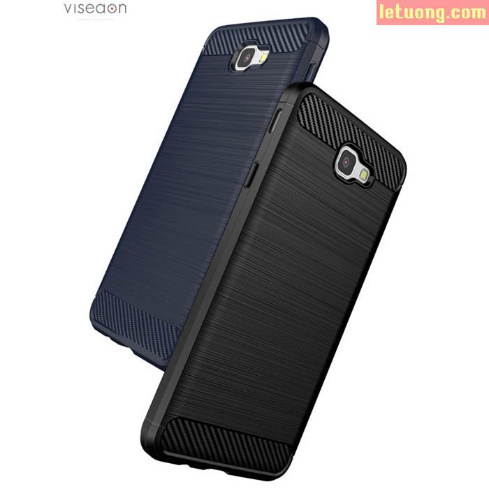 Ốp lưng Samsung Galaxy J7 Prime Viseaon Rugged Armor nhựa mềm