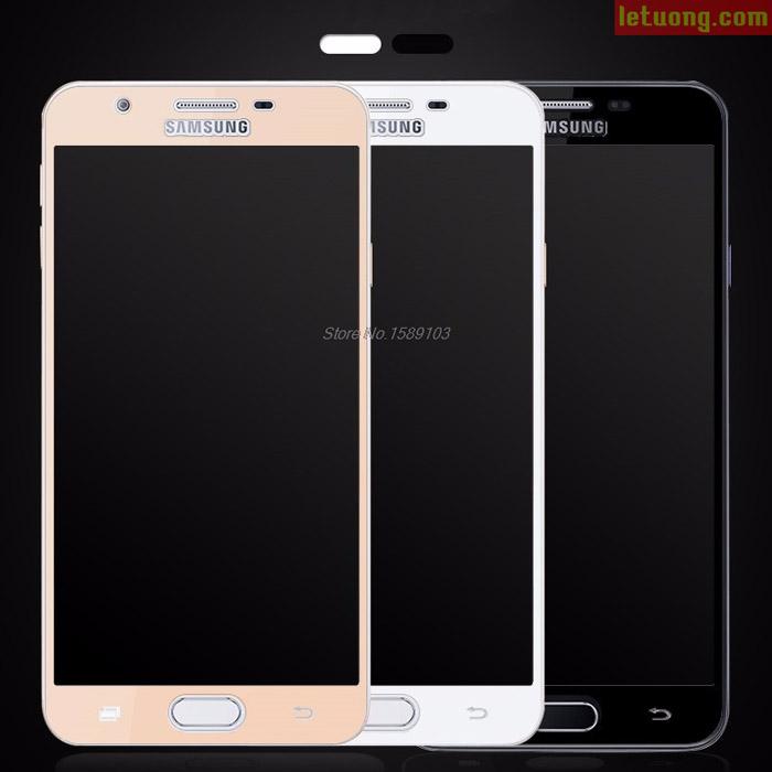 Kính cường lực full màn hình Galaxy J5 Prime/On5 2016 Glass Full Cover 3D