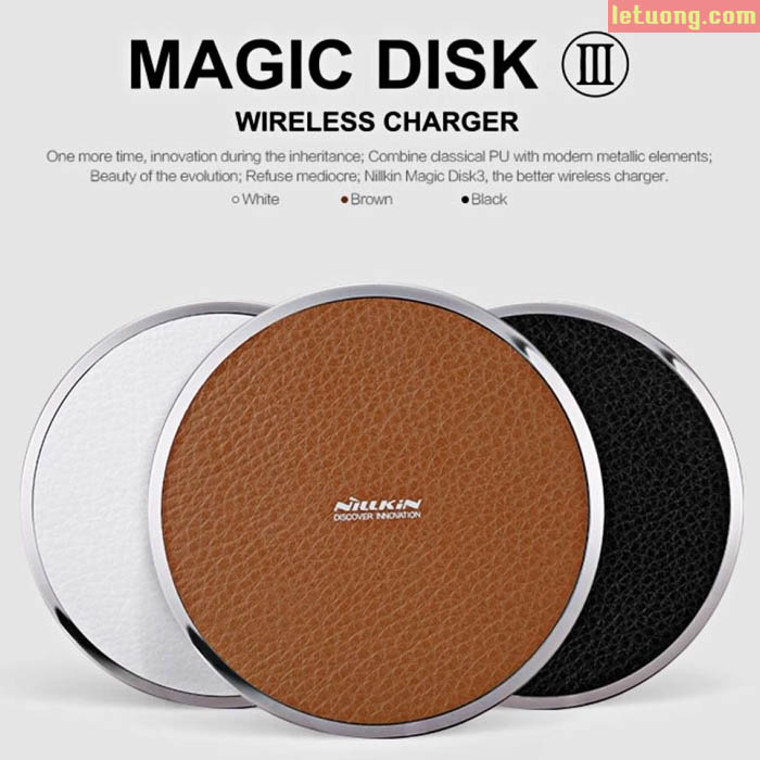 Sạc nhanh không dây Nillkin Magic Dick 3 Fast Charge Edition