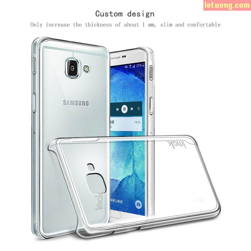Ốp lưng Samsung Galaxy A5 2017 Imak Nano trong suốt không ố vàng